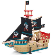 xylino peiratiko karabi le toy van jolly pirate ship tv341 photo