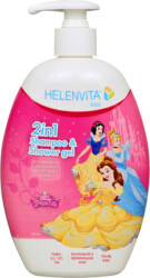 sampoyan afroloytro helenvita kids 2 in 1 shampoo shower gel princess 500ml 5213000524031 photo