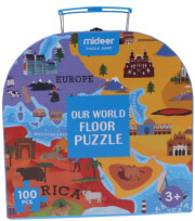 pazl dapedoy mideer our world floor puzzle 100tmx md3027 photo