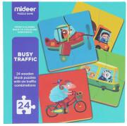 pazl mideer busy traffic 24tmx md3037 photo