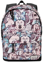 sakidio platis dimotikoy karactermania classic minnie gray hs backpack drawing 44x30x20cm photo
