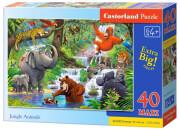 pazl castorland jungle animals 40tmx photo