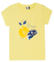 t shirt 3 pommes 3q10034 kitrino photo