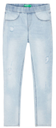 jeans panteloni benetton i colors girl anoixto mple 120 cm 6 7 eton photo