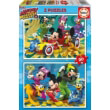 pazl xylino educa mickey roadster 2x20tmx 17631 photo