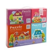 pazl mideer 4 in 1 puzzle fairy town 84 tmx md3017 photo