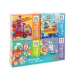 pazl mideer 4 in 1 puzzle traffic 84 tmx md3025 photo