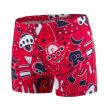 magio speedo space traveller essential allover aquashort risk red navy photo