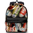 tsanta dimotikoy gymnasioy karactermania prodg gray freestyle backpack sneakers 42x30x20c photo