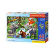 pazl castorland jungle animals 40tmx photo