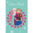 moketa persika disney frozen junior sisters rule 5000 akryliko galazio roz 140x200cm photo