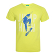 t shirt benetton funzione boy kitrino 100 cm 3 4 eton photo