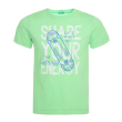 t shirt benetton funzione boy prasino 100 cm 3 4 eton photo