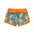 sorts benetton active summer floral mple portokali fluo 110 cm 4 5 eton photo