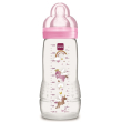 mpimpero plastiko mam baby bottle me thili silikonis roz 330ml photo