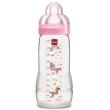 mpimpero plastiko mam baby bottle me thili silikonis roz 330ml photo