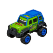 oxima road rippers off road rumbler  forest green 1 18 photo