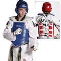 thorakas taekwondo olympus double hard mple kokkinos no 1 xs extra photo 1