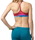 mpoystaki reebok sport yoga glitch bra top kokkino extra photo 1