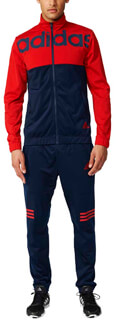 forma adidas performance back to school track suit mple kokkini extra photo 5