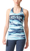 fanelaki adidas performance essentials linear allover tank top galazio mple extra photo 2