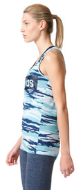 fanelaki adidas performance essentials linear allover tank top galazio mple extra photo 3