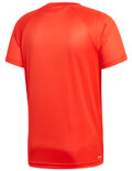 mployza adidas performance d2m logo tee kokkini extra photo 1