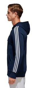 zaketa adidas performance essentials 3 stripes fz hoodie mple skoyro m extra photo 3