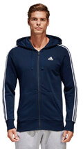 zaketa adidas performance essentials 3 stripes fz hoodie mple skoyro xxl extra photo 2