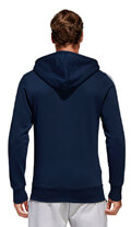 zaketa adidas performance essentials 3 stripes fz hoodie mple skoyro xxl extra photo 4