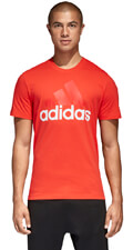 mployza adidas performance essentials tee kokkini xxl extra photo 2