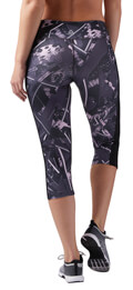 kolan reebok sport workout ready capri allover print staxti m extra photo 4