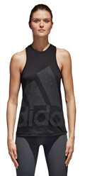 fanelaki adidas performance logo tank top mayro l extra photo 2