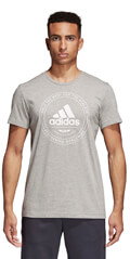 mployza adidas performance emblem tee gkri m extra photo 2