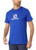 mployza salomon logo ss tee mple roya extra photo 1