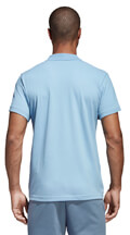 mployza adidas performance essentials basic polo shirt thalassi extra photo 4
