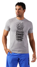 mployza reebok sport pineapple weights tee gkri extra photo 2
