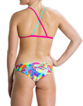 magio speedo flipturns two piece crossback roz prasino 36 extra photo 3