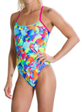 magio speedo flipturns single crossback roz prasino 28 extra photo 2