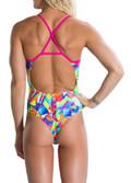 magio speedo flipturns single crossback roz prasino 30 extra photo 3