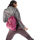 sakidio reebok sport drawstring bag roz extra photo 2