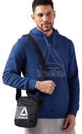 tsantaki reebok sport city bag mayro extra photo 4