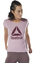 mployza reebok sport workout ready supremium 20 tee lila s extra photo 2