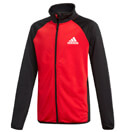 forma adidas performance yb tracksuit closed hem mayri kokkini extra photo 1