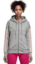 zaketa adidas performance essentials 3s fz hoodie gkri extra photo 2