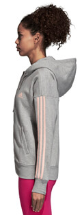 zaketa adidas performance essentials 3s fz hoodie gkri extra photo 3