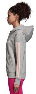 zaketa adidas performance essentials 3s fz hoodie gkri s extra photo 3
