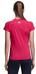 mployza adidas performance essentials linear tee matzenta xs extra photo 4