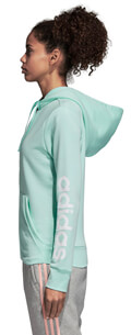 zaketa adidas performance essentials linear fz hooded track top thalassi extra photo 3