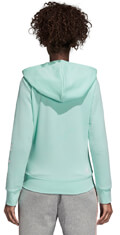 zaketa adidas performance essentials linear fz hooded track top thalassi extra photo 4